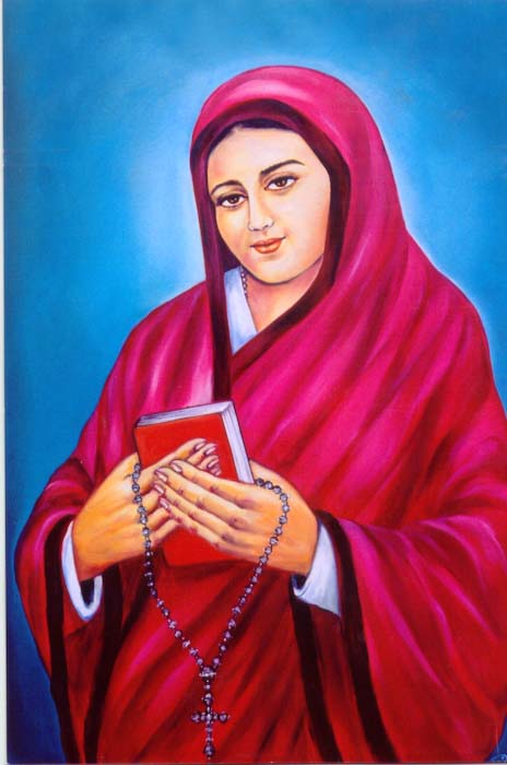 Mother Annamma, Foundress & first Superior General (1858-1883)