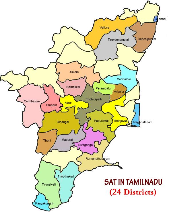 SAT in Tamilnadu