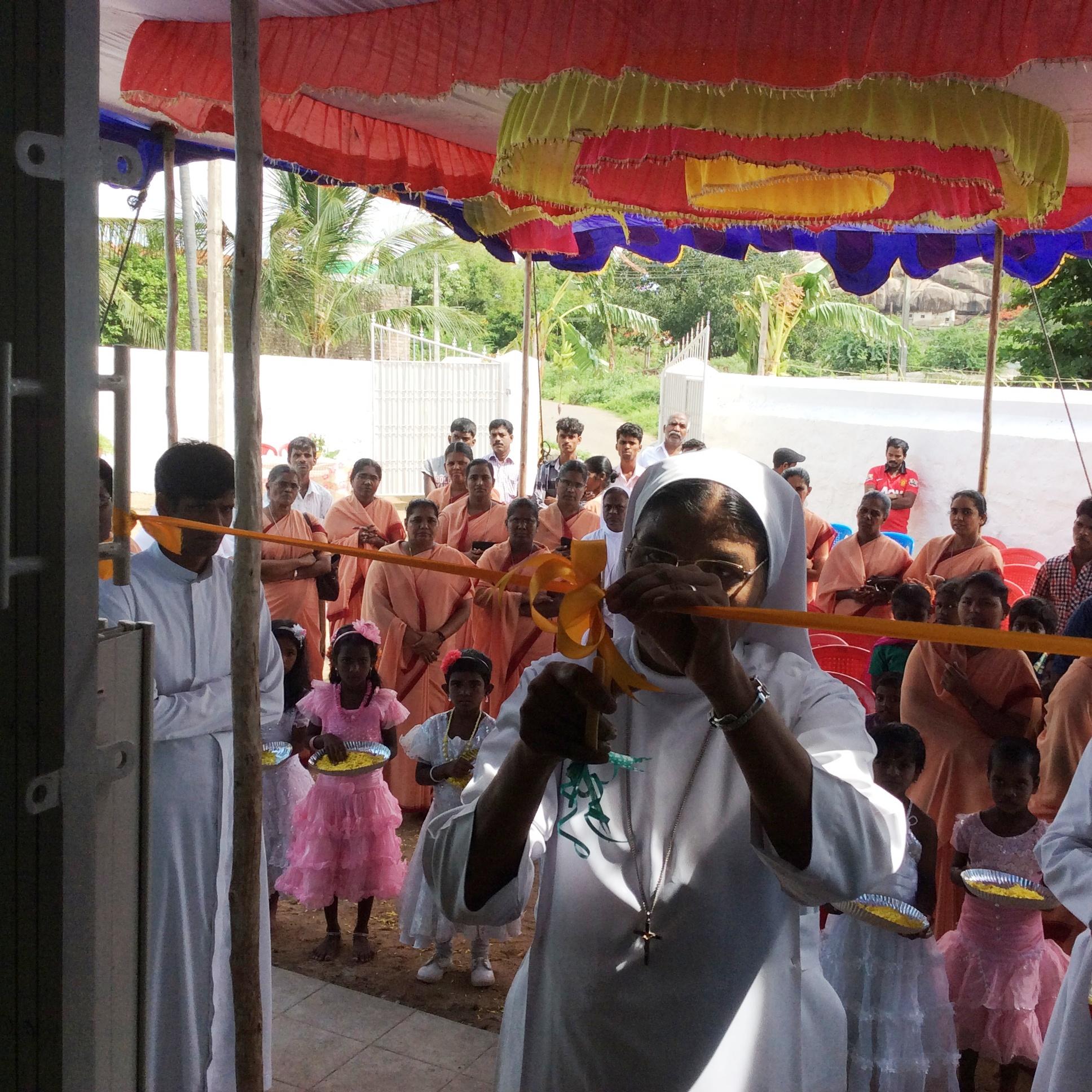 Thirumalai new convent blessing