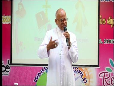 Evangelization Meeting- Bishop Singarayar